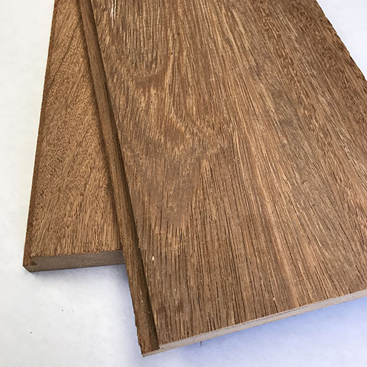 Brazilian Apitong, Angelim Pedra *** ON SALE *** Shorts 8-11' Shiplap Flooring