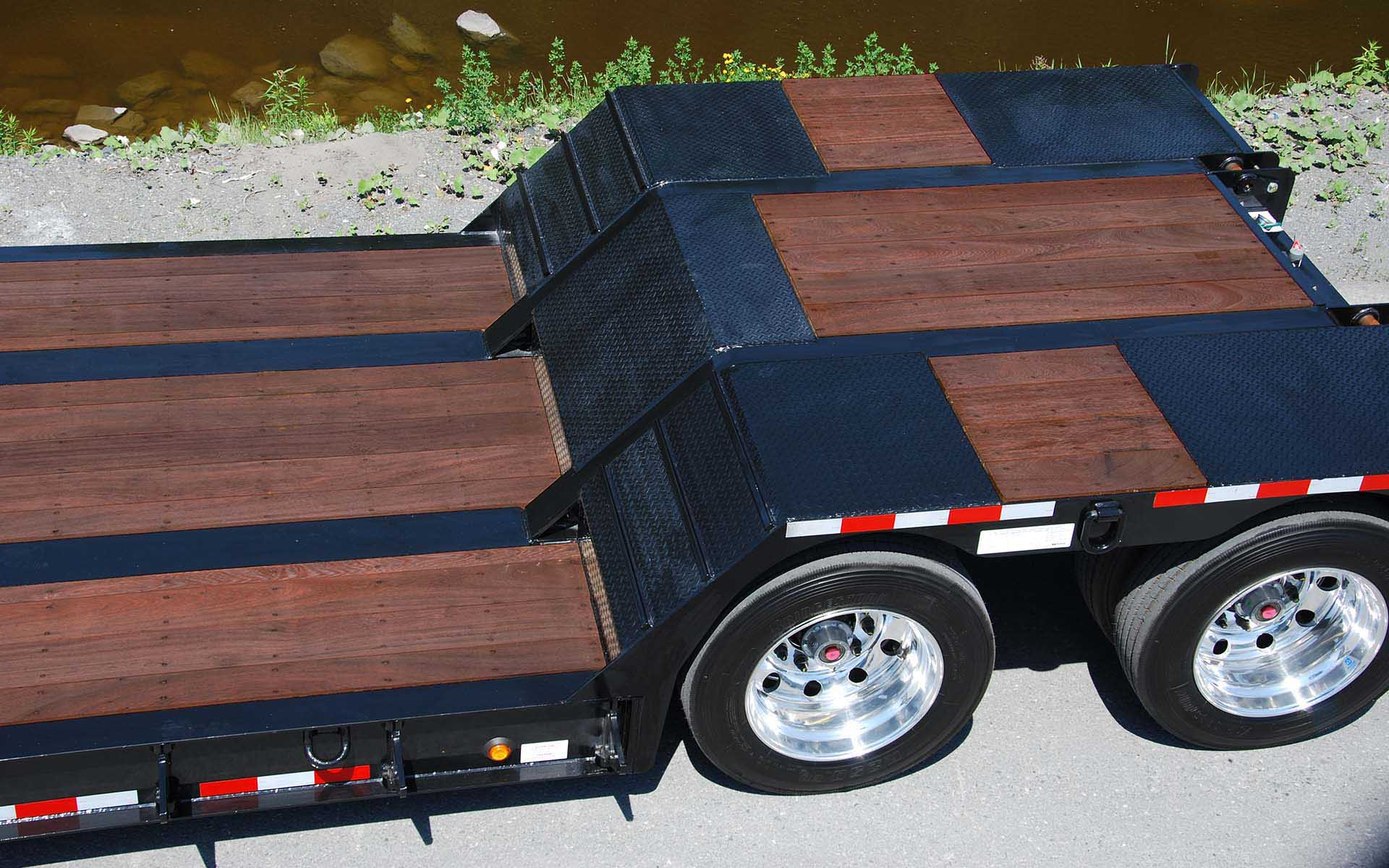 Manac Flatbed by River with APITONG OIL Exterior Oil Based Wood Stain