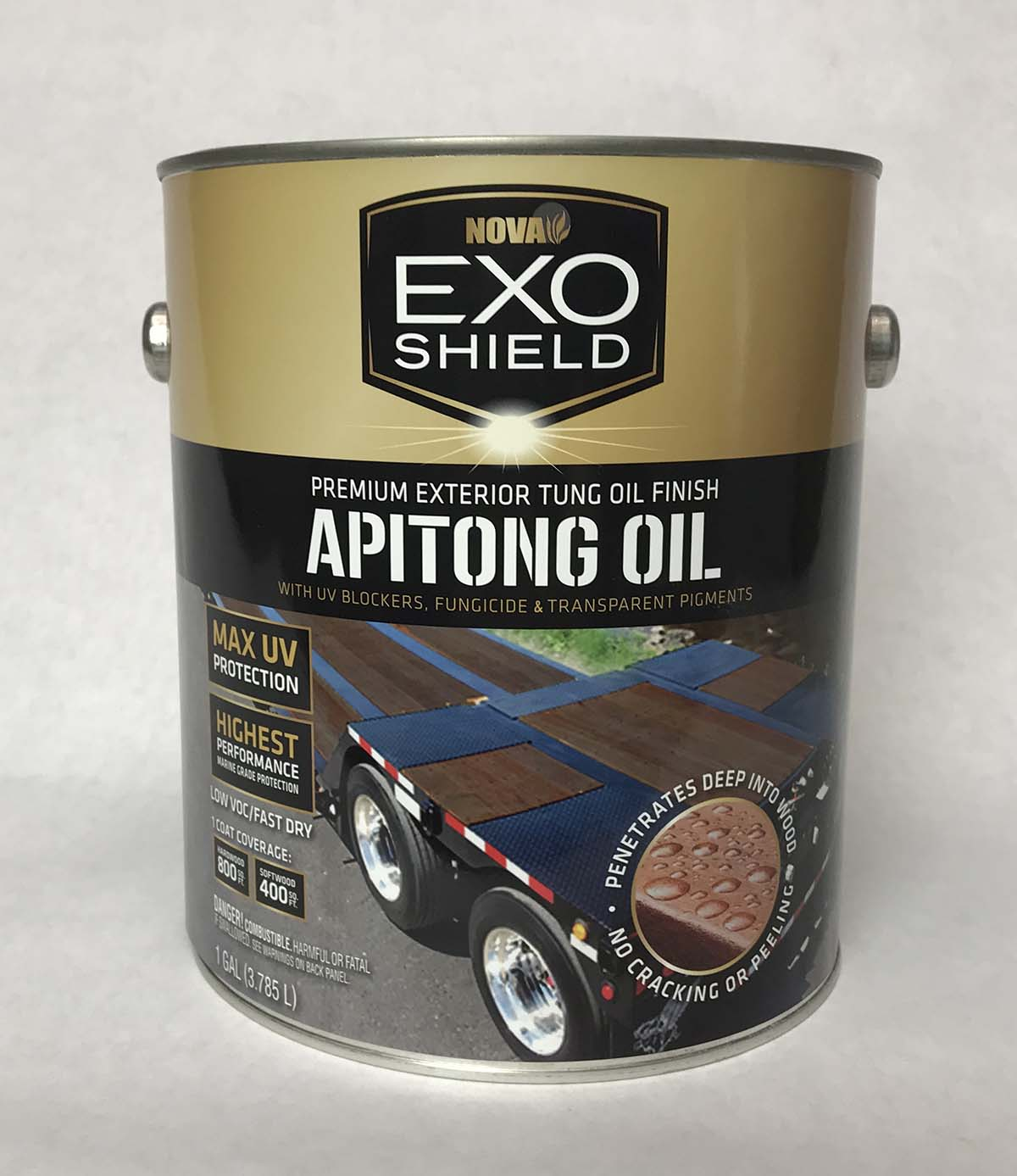 APITONG OIL Exterior Oil Based Wood Stain