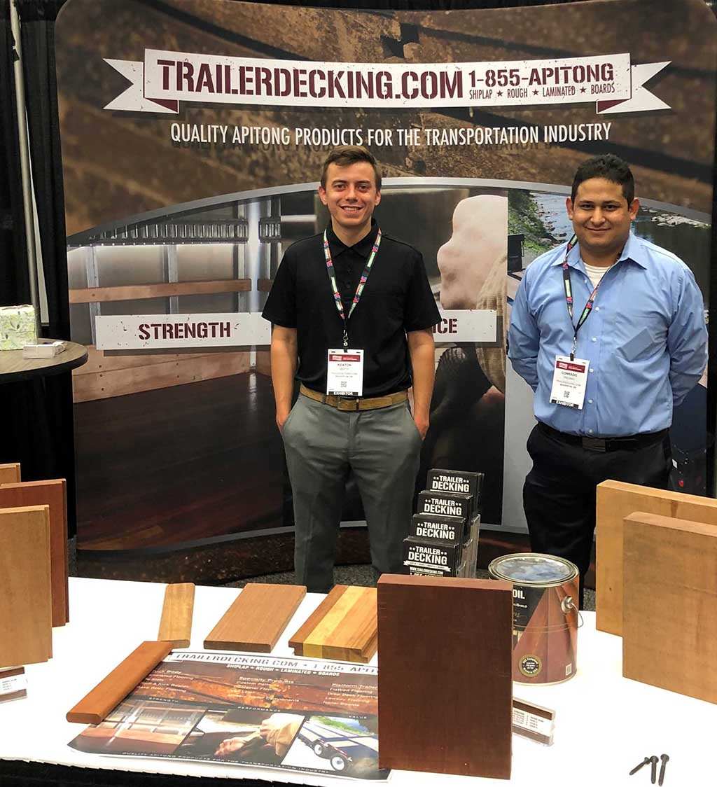 Conrado and Keaton at The Great American Trucking Show