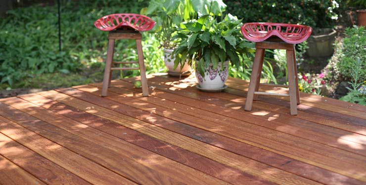 Angelim Pedra Hardwood Decking